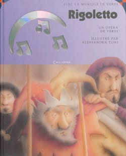 Rigoletto VERDI Livre Découverte des oeuvres - laflutedepan