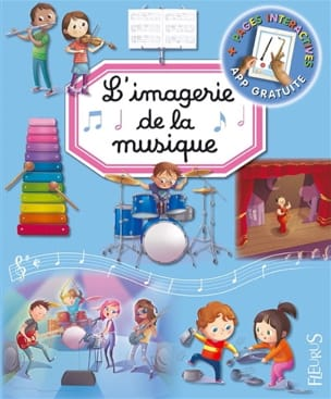 L'imagerie de la musique Émilie BEAUMONT Livre laflutedepan