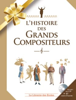 Claire LAURENS - The history of the Great Composers - Book - di-arezzo.co.uk