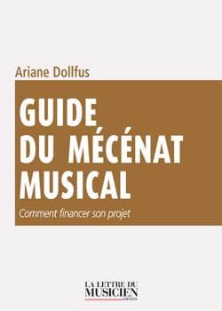 Guide du mécénat musical Ariane DOLLFUS Livre laflutedepan