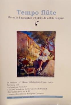 Tempo Flûte n°12 (Deuxième semestre 2015) Revue Livre laflutedepan