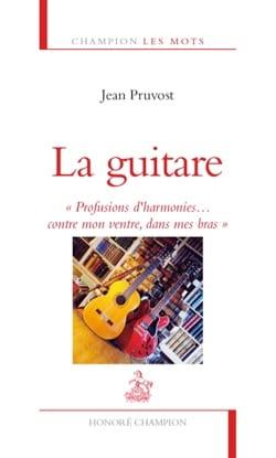 La guitare - Jean PRUVOST - Livre - Les Instruments - laflutedepan.com