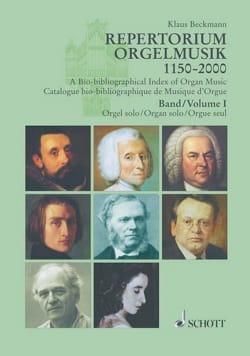Repertorium Orgelmusik vols 1 et 2 - Klaus BECKMANN - laflutedepan.com