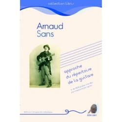 Approche du répertoire de la guitare Arnaud SANS Livre laflutedepan