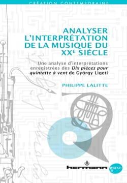Analyser l'interprétation de la musique du XXe siècle - laflutedepan.com