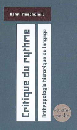 Critique du rythme : anthropologie historique du langage laflutedepan