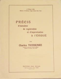 Précis de registration et d'improvisation à l'orgue - laflutedepan.com