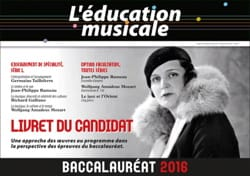 L'éducation musicale - Bachelor's degree 2016: Candidate's booklet - Book - di-arezzo.com