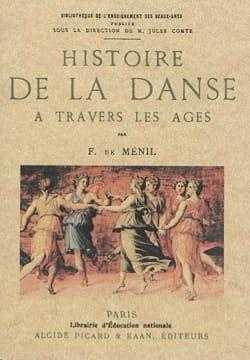 Histoire de la danse à travers les âges DE MÉNIL Félicien laflutedepan