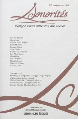 Sonorités, n° 7 : écologie sonore entre sens, art, science - laflutedepan.com
