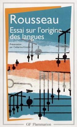Essai sur l'origine des langues : où il est traité de la mélodie laflutedepan