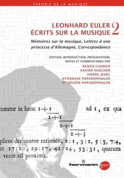 Écrits sur la musique 2: Mémoires sur la musique, Lettres à une princesse d'All laflutedepan