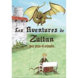 Igor TROPPÉE - Les aventures de Zültan, pour piano et orchestre - Livre - di-arezzo.fr