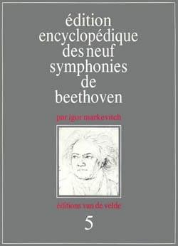 Edition encyclopédique des neuf symphonies de Beethoven : n° 5 - laflutedepan.com