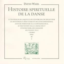 Histoire spirituelle de la danse David WAHL Livre laflutedepan