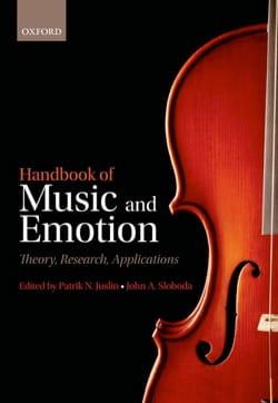 Handbook of music and emotion - laflutedepan.com