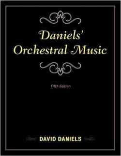 David DANIELS - Orchestral Music - Livre - di-arezzo.fr