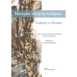 Musiques électroacoustiques : Analyses, Écoutes - laflutedepan.com