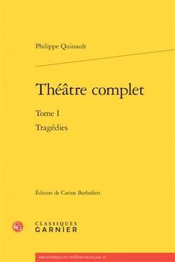 Théâtre complet vol 1: Tragédies - laflutedepan.com