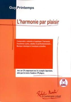 Harmonie Par Plaisir Guy PRINTEMPS Livre Harmonie - laflutedepan