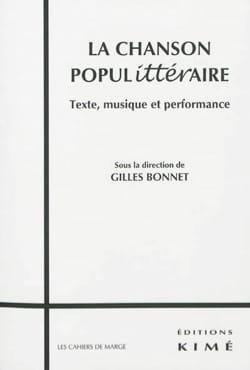 La chanson populittéraire : texte, musique Gilles BONNET laflutedepan