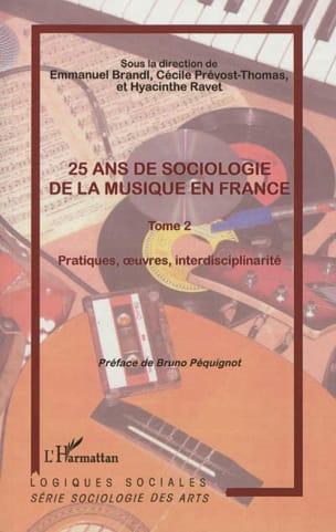 25 ans de sociologie de la musique en France, volume 2 laflutedepan