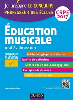 Education musicale : oral, admission : CRPE 2016 - laflutedepan.com