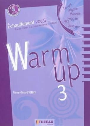 VERNY Pierre-Gérard - Warm up, vol. 3 - Livre - di-arezzo.fr