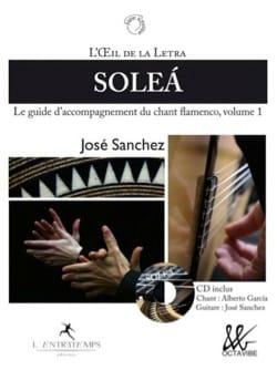 Solea : Le guide d'accompagnement du chant flamenco, volume 1 laflutedepan