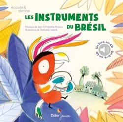 Les instruments du Brésil Nathalie DIETERLÉ Livre laflutedepan
