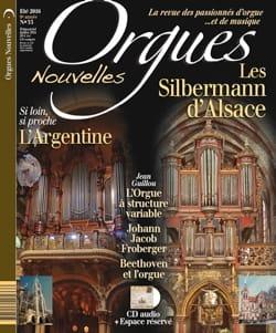 Orgues Nouvelles n° 33, été 2016 : Les Silbermann d'Alsace laflutedepan
