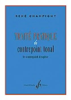 René CHAMPIGNY - Practical treatise of tonal counterpoint - Book - di-arezzo.co.uk