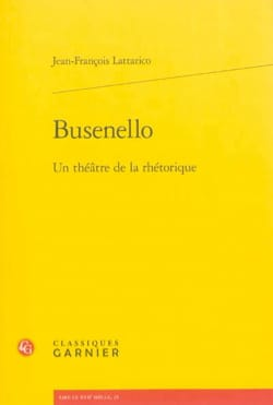 Busenello : un théâtre de la rhétorique - laflutedepan.com