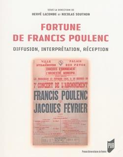 Fortune de Francis Poulenc : diffusion, interprétation, réception - laflutedepan.com