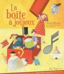 La boîte à joujoux Claude DEBUSSY Livre Contes musicaux - laflutedepan
