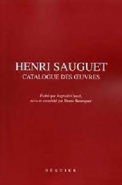 Henri Sauguet, catalogue des oeuvres Raphaël CLUZEL Livre laflutedepan
