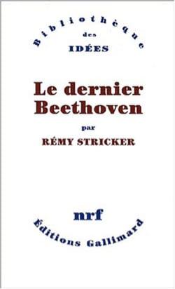 Le dernier Beethoven Rémy STRICKER Livre Les Hommes - laflutedepan