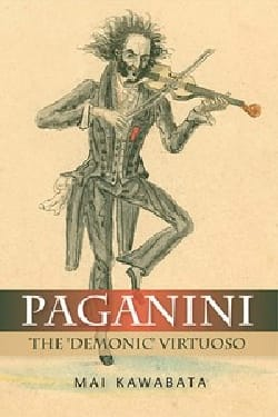 Paganini (livre en anglais) - Mai KAWABATA - Livre - laflutedepan.com