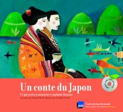BLOCH Muriel / FRONTY Aurélia - Un conte du Japon : ce qui arriva à monsieur et madame Kintaro - Livre - di-arezzo.fr