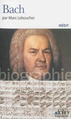 Bach Marc LEBOUCHER Livre Les Hommes - laflutedepan
