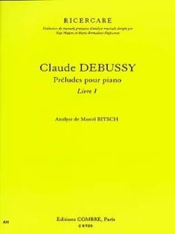 Marcel BITSCH - Debussy - Preludes for piano: book 1 - Book - di-arezzo.co.uk