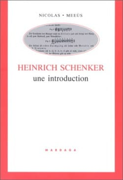 Nicolas MEEUS - Heinrich Schenker, an introduction - Book - di-arezzo.com