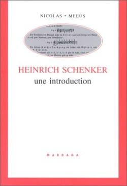 Nicolas MEEUS - Heinrich Schenker, an introduction - Book - di-arezzo.co.uk
