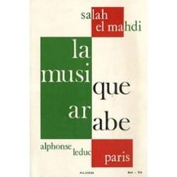 La musique arabe EL MAHDI Salah Livre Les Pays - laflutedepan
