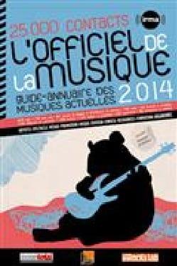 L'Officiel de la Musique 2014 - Livre - laflutedepan.com