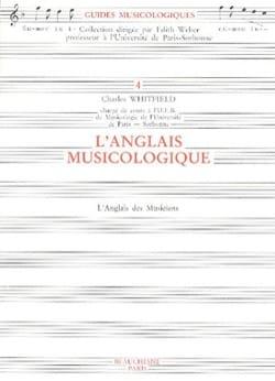L'anglais musicologique Charles WHITFIELD Livre laflutedepan