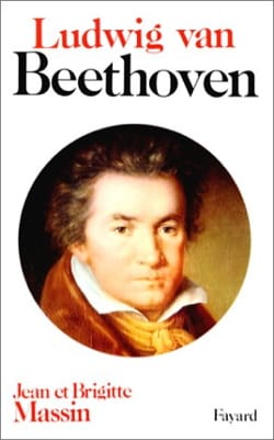 Ludwig van Beethoven MASSIN Jean / MASSIN Brigitte Livre laflutedepan