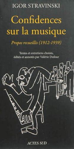 Confidences sur la musique : propos recueillis (1912-1940) laflutedepan
