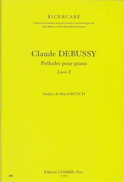 Marcel BITSCH - Debussy, Preludes for piano: book 2 - Book - di-arezzo.co.uk