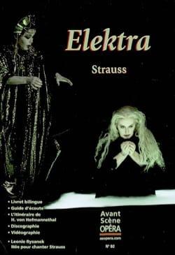 Avant-scène opéra (L'), n° 92 : Elektra Richard STRAUSS laflutedepan